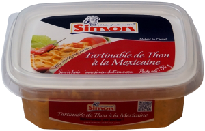Tartinable de Thon à la Mexicaine