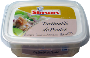 Tartinable de Poulet