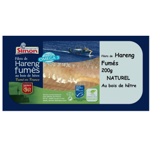 Filets de Hareng fumés naturel