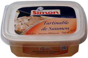 Tartinable de saumon 150g